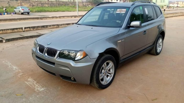 Foreign Used BMW X3 2006 Model Gray-14