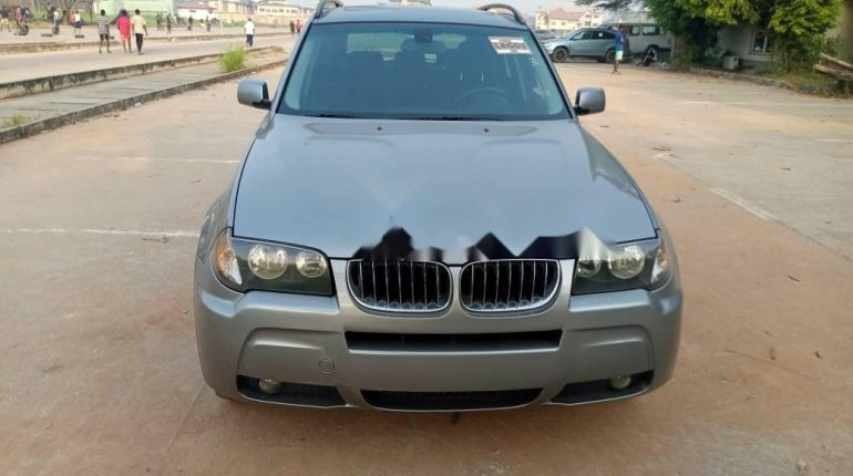 Foreign Used BMW X3 2006 Model Gray-2
