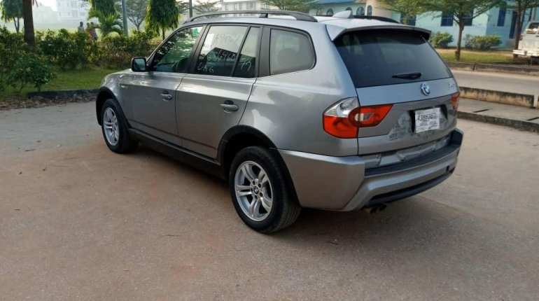 Foreign Used BMW X3 2006 Model Gray-9
