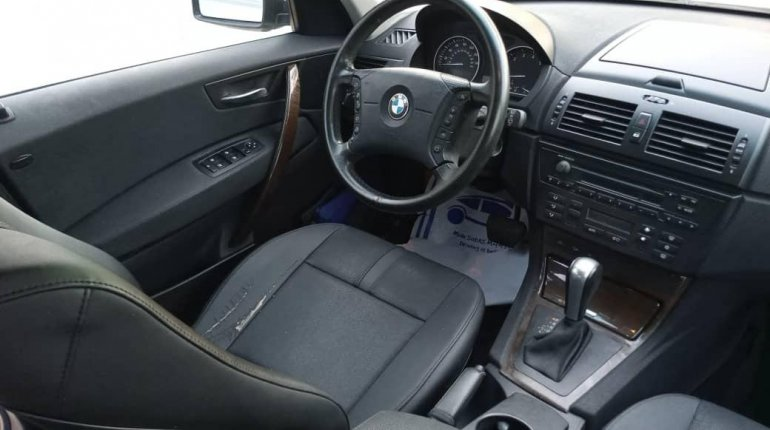 Foreign Used BMW X3 2006 Model Gray-13