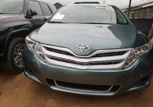 Foreign Used Toyota Venza 2013 Model Green -4