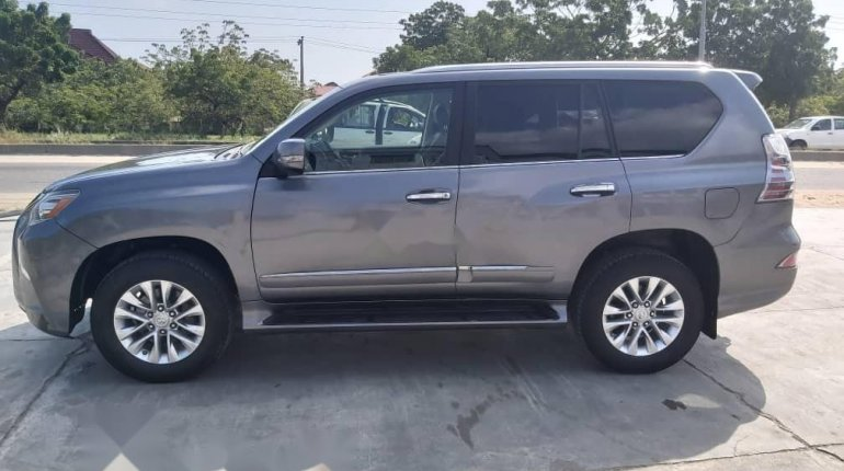 Foreign Used Lexus GX 2016 Model Gray-5