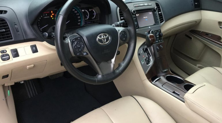 Foreign Used Toyota Venza 2013 Model Green -10
