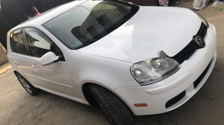 Foreign Used Volkswagen Rabbit 2009 Model White -13