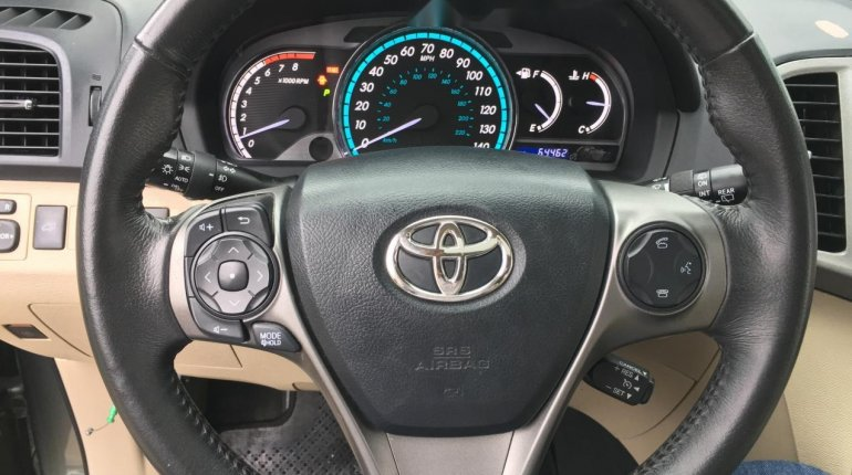 Foreign Used Toyota Venza 2013 Model Green -2
