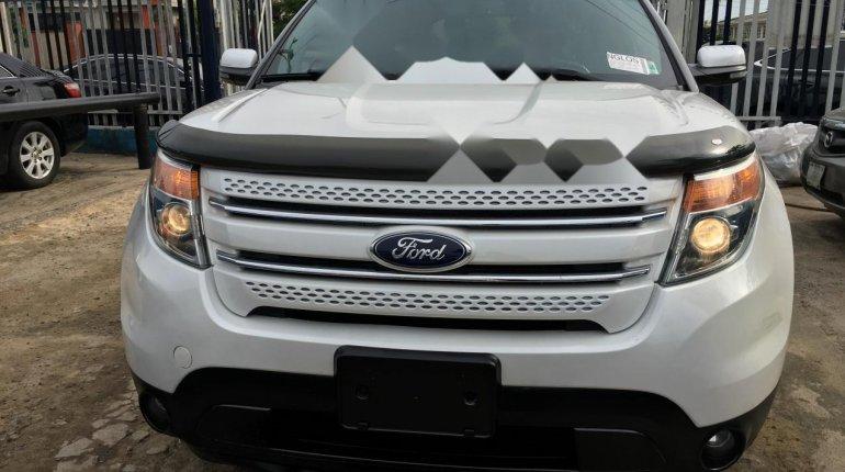 Foreign Used Ford Explorer 2012 Model White -9