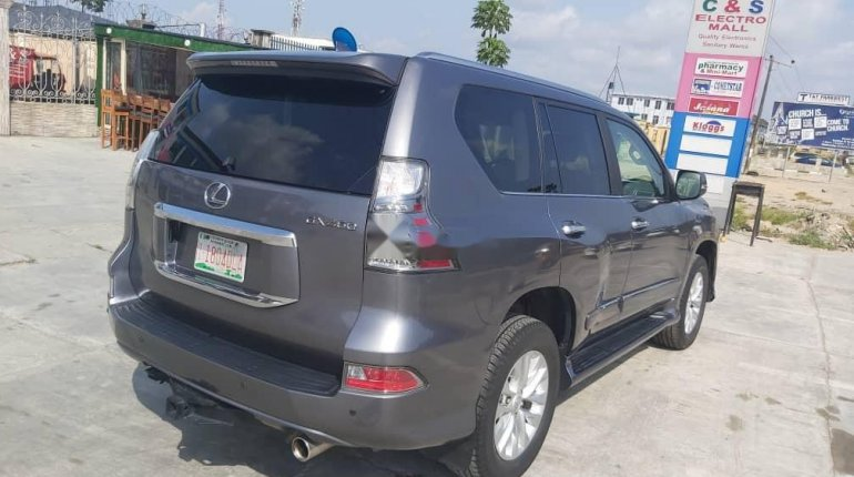 Foreign Used Lexus GX 2016 Model Gray-10