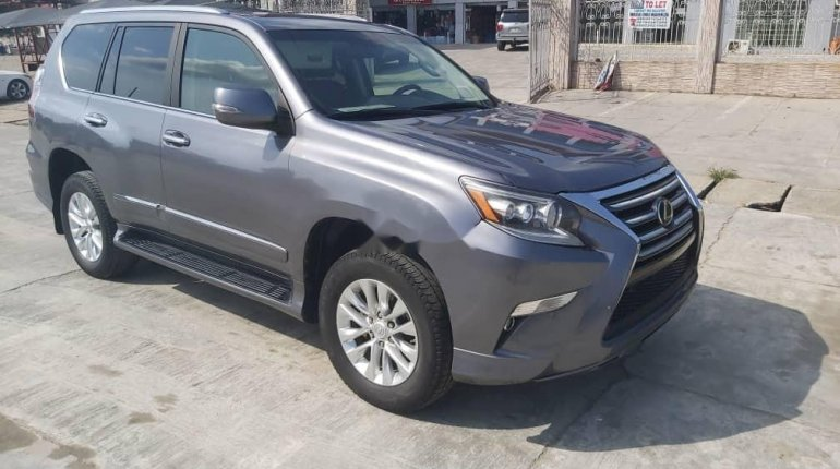 Foreign Used Lexus GX 2016 Model Gray-6