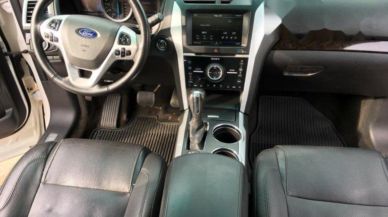 Foreign Used Ford Explorer 2012 Model White -0