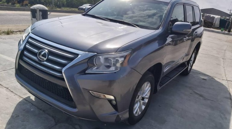Foreign Used Lexus GX 2016 Model Gray-4
