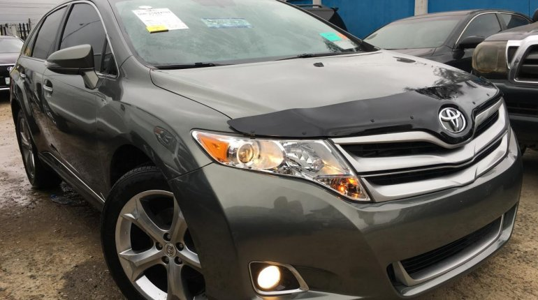 Foreign Used Toyota Venza 2013 Model Green -3