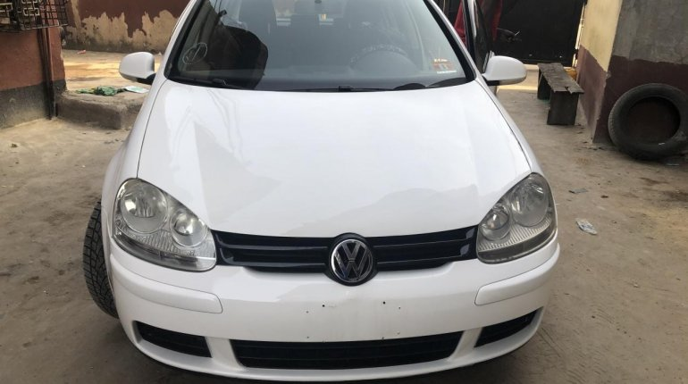 Foreign Used Volkswagen Rabbit 2009 Model White -15