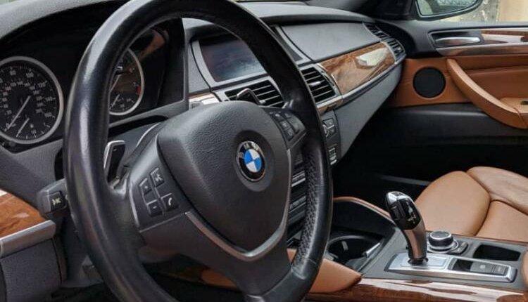 Nigeria Used BMW X6 2012 Model Black-1