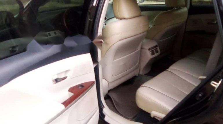 Foreign Used Toyota Venza 2009 Model Black-5