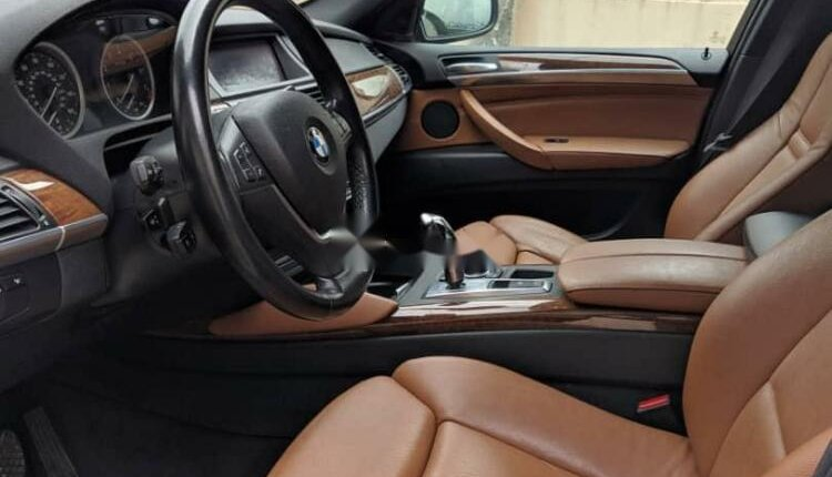 Nigeria Used BMW X6 2012 Model Black-4