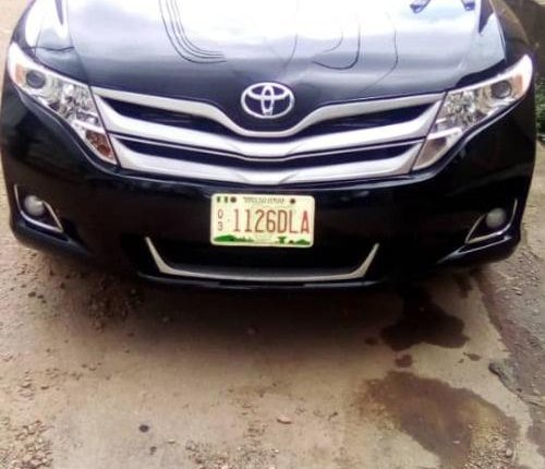 Foreign Used Toyota Venza 2009 Model Black-8