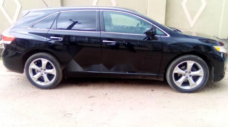 Foreign Used Toyota Venza 2009 Model Black-9