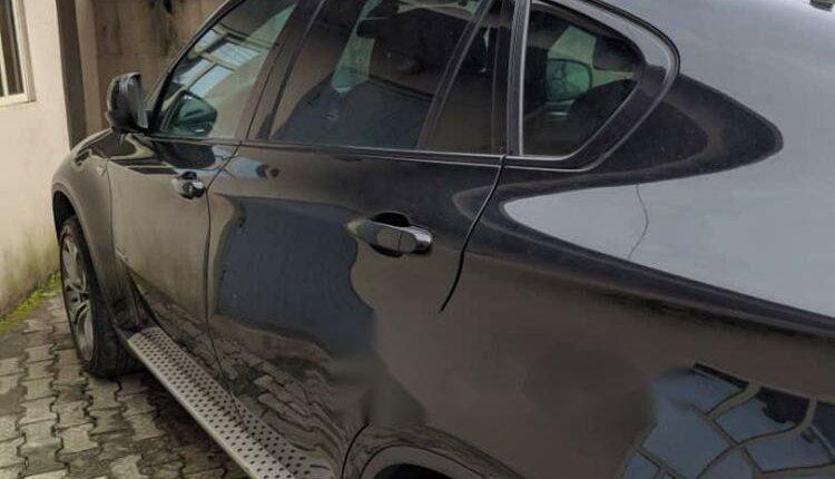 Nigeria Used BMW X6 2012 Model Black-3