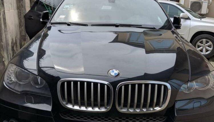 Nigeria Used BMW X6 2012 Model Black-11