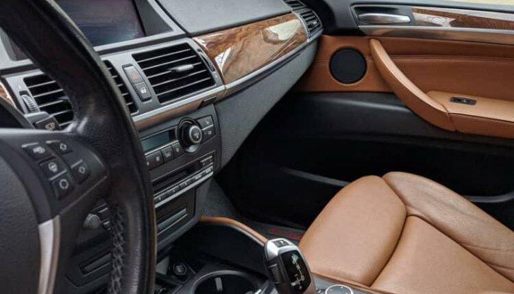 Nigeria Used BMW X6 2012 Model Black-7