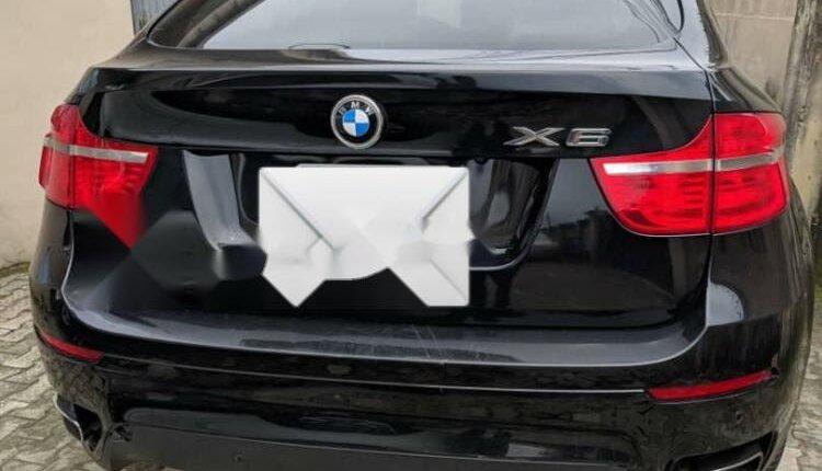 Nigeria Used BMW X6 2012 Model Black-0
