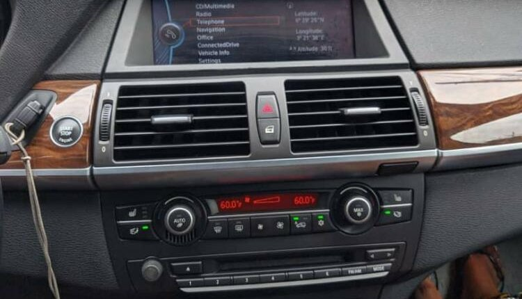 Nigeria Used BMW X6 2012 Model Black-9
