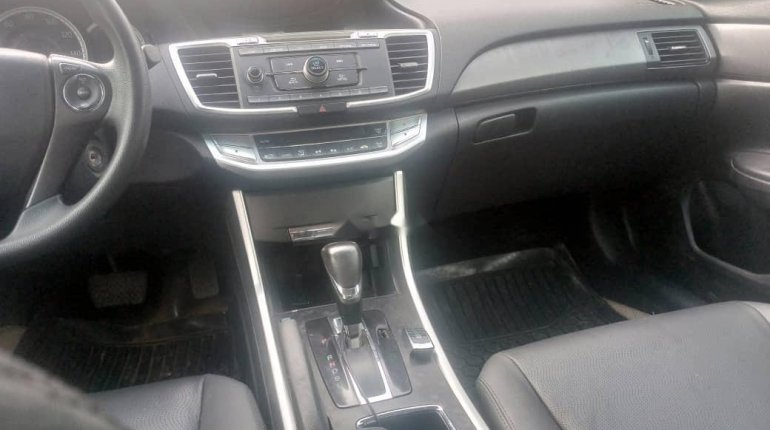 Foreign Used Honda Accord 2014 Model Black-7