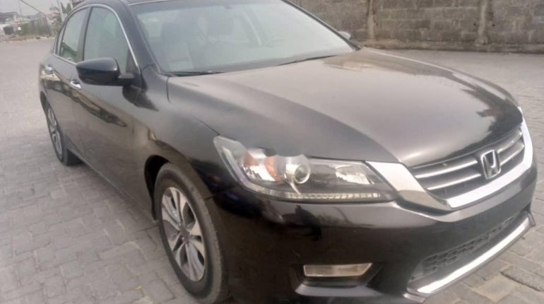 Foreign Used Honda Accord 2014 Model Black-2