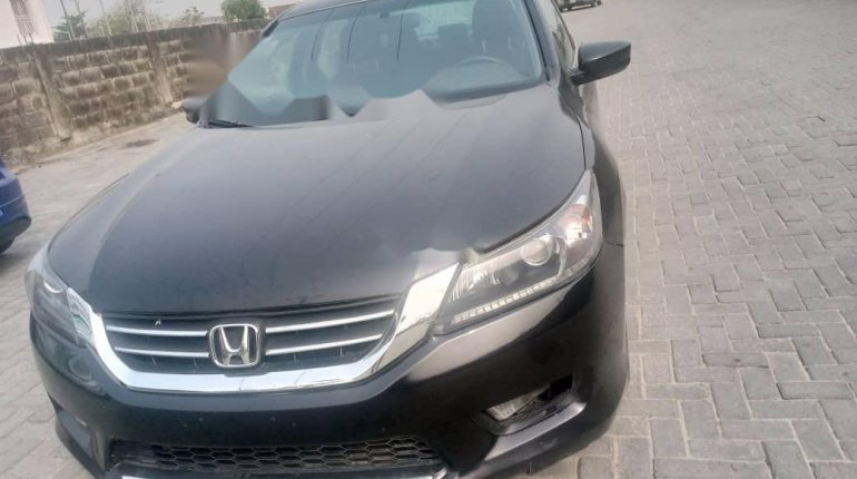 Foreign Used Honda Accord 2014 Model Black-8