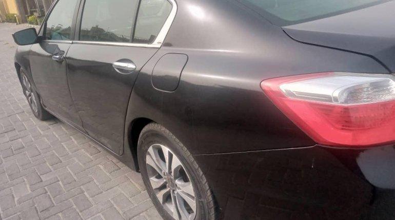 Foreign Used Honda Accord 2014 Model Black-5