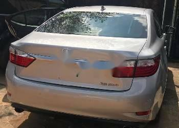 Foreign Used Lexus ES 2015 Model Silver -6