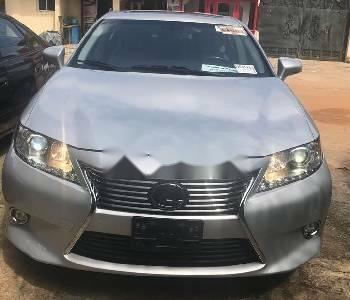 Foreign Used Lexus ES 2015 Model Silver -0