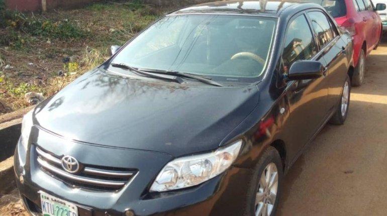 Nigeria Used Toyota Corolla 2010 Model Black -0