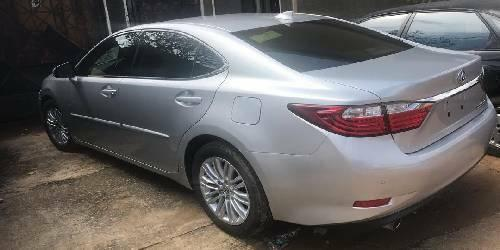 Foreign Used Lexus ES 2015 Model Silver -5