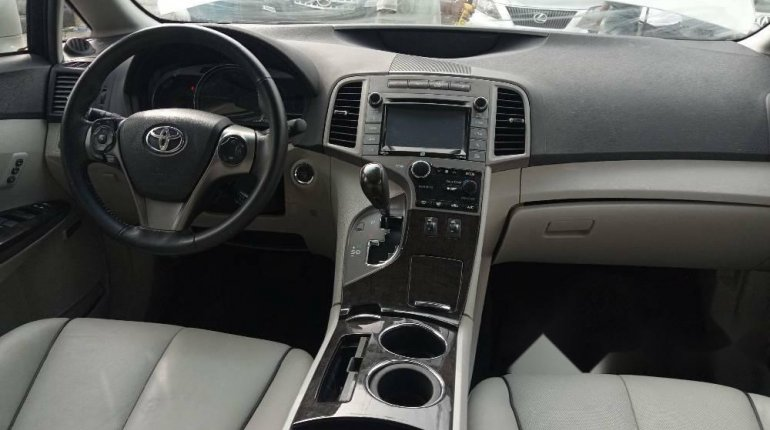 Foreign Used Toyota Venza 2015 Model White -5