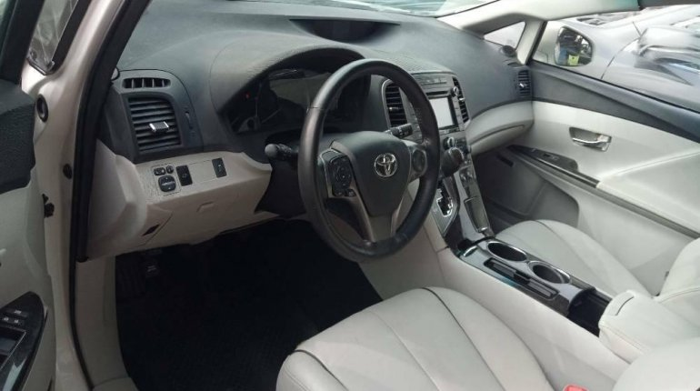 Foreign Used Toyota Venza 2015 Model White -4