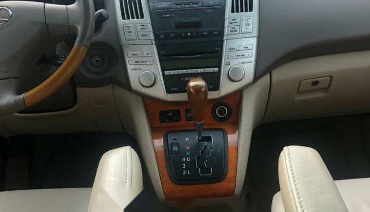 Foreign Used Lexus RX 2008 Model Gold -4