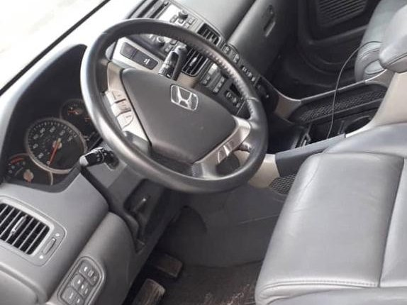 Foreign Used Honda Pilot 2007 Model Gray -6
