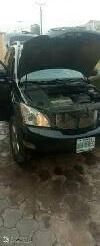 Nigeria Used Lexus RX 2006 Model Black -6