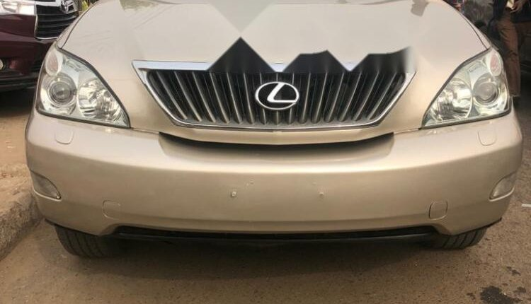 Foreign Used Lexus RX 2008 Model Gold -0