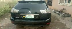 Nigeria Used Lexus RX 2006 Model Black -1