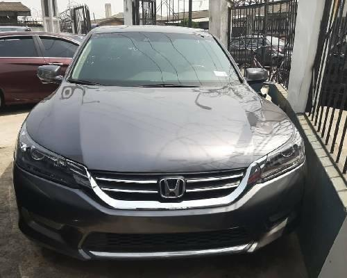 Foreign Used Honda Accord 2013 Model Gray-0