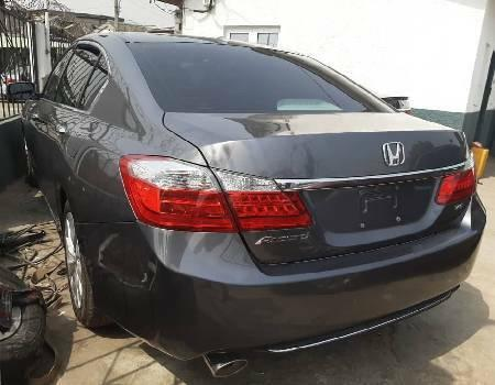 Foreign Used Honda Accord 2013 Model Gray-4
