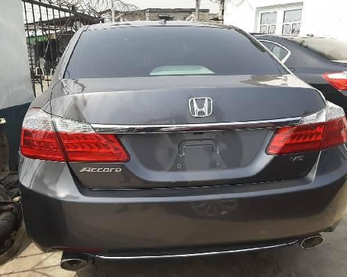 Foreign Used Honda Accord 2013 Model Gray-6