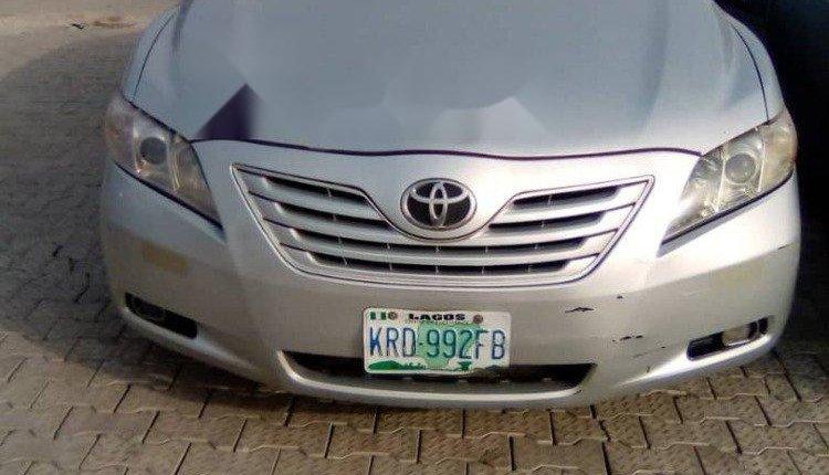 Nigeria Used Toyota Camry 2007 Model Silver-0