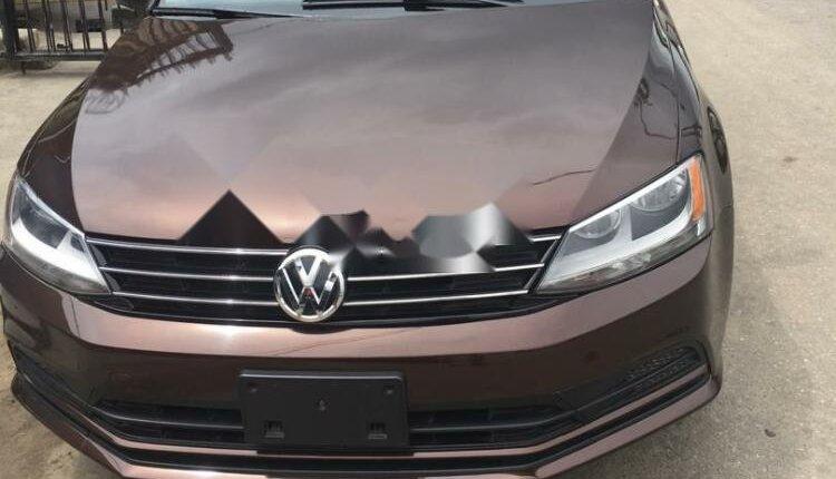 Foreign Used Volkswagen Jetta 2016 Model Brown-0