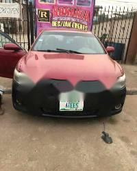 Nigeria Used Toyota Camry 2008 Model Red-0