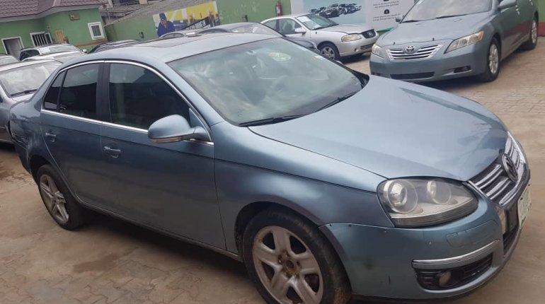 Nigeria Used Volkswagen Jetta 2008 Model Blue -2
