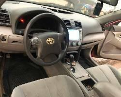 Nigeria Used Toyota Camry 2008 Model Red-5