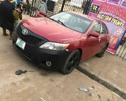 Nigeria Used Toyota Camry 2008 Model Red-3